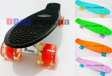 "Пенни борд Penny MS 22"" светящиеся колеса ABEC - 9"