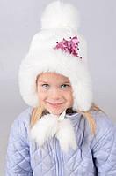 Детская зимняя  шапочка  1025