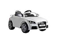 Детский электромобиль Alexis Baby Mix Audi TT с пультом ДУ белый