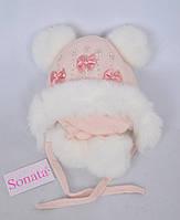 Детская шапочка для девочки 9125