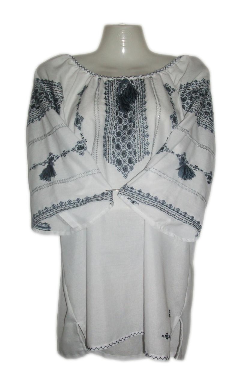 Вишита жіноча блузка ручної роботи