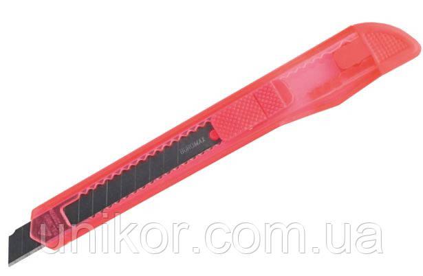 Нож канцелярский, 9 мм., BM.4631, ассорти. BuroMax