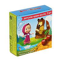 Детское крем-мыло Печенька и Черешня 2 кусочка по 42 грамм