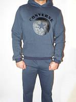Модный трикотажный спортивный костюм на байке Converse оптом и в розницу