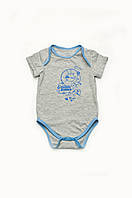 Боди из кулира для новорожденных мальчиков от рождения до 9 мес размеры 62-80