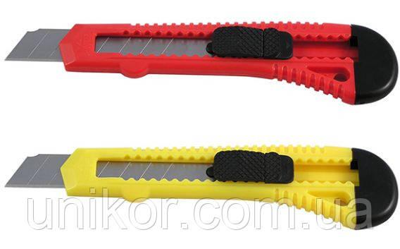 Нож канцелярский, 18 мм., D6522, ассорти. Delta by Axent