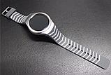 Силиконовый ремешок для часов Samsung Gear S2 Sports SM-R720 / SM-R730 Strip Grey, фото 4