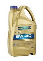 Синтетическое моторное масло для автомобилей с дизельным двигателем RAVENOL Vollsynthetic Dieseloel VDL 5W-40