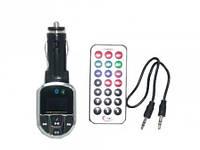 FM модулятор CM011, фм трансмиттер авто MP3 для прослушивания музыки