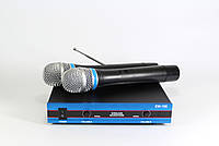 Микрофоны DM EW 100 (10) Sennheiser 2 радиомикрофона + база