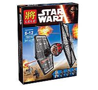 Конструктор Star Wars  LELE 79210 Истребитель войск Первого Ордена