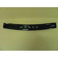 Дефлектор капота (мухобойка) Mazda 121 с 1996–1999 г.в. (Мазда 121) Vip Tuning