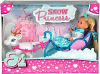 Кукольный набор Эви Снежная принцесса Simba 5737248