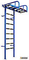 """Детская шведская стенка с рукоходом """"Гуливер"""" от ТМ Koloss-sport + детское навесное(доставка 0 грн)"""