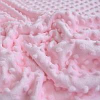 Плюш Minky светло розовый 350 г/м2 № м-6