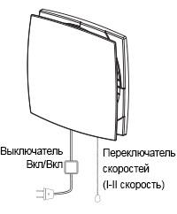 Управление проветривателем Домовент Соло РА1-35-9 Р