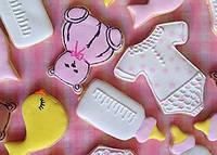 Печенье украшенное айсингом