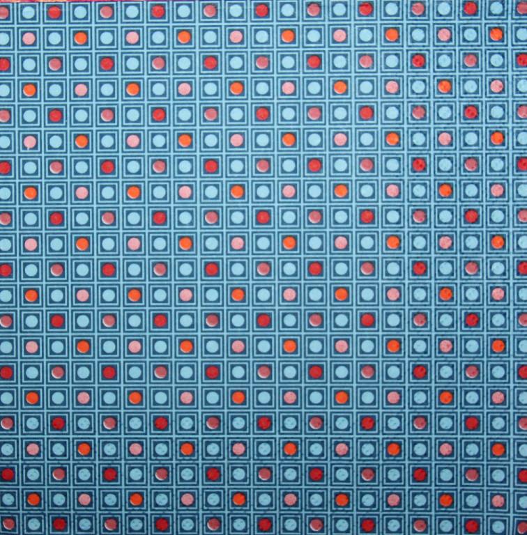Серветки декупажні клітинки кружечки 3182