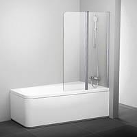 Шторка для ванны Ravak 100 см 10CVS2-100 R белый+transparent 7QRA0103Z1