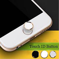 Алюминиевая наклейка на кнопку Home для iPhone/iPad