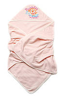 Детское полотенце с капюшоном махровое для купания размер 95см*95см разных цветов