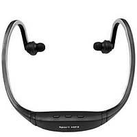 Беспроводная спортивная стерео-гарнитура W1 черный stereo стерео наушники радио MP3 с аккумулятором xiaomi