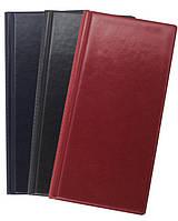 Визитница BUROMAX BM3521 на 96 визиток, 120*245мм Бордовый