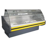 Витрина холодильная «Savona» с гнутым стеклом