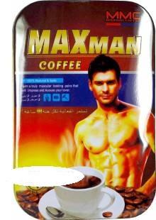Maxman максмен, кофе для секса для мужчин 8шт в уп