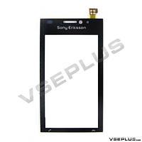 Тачскрин (сенсор) Sony Ericsson U1 Satio / U1i Satio, черный