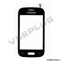 Тачскрин (сенсор) Samsung S6310 Galaxy Young / S6312 Galaxy Young Duos, черный