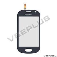 Тачскрин (сенсор) Samsung S6810 Galaxy Fame, синий