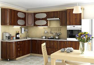 "Угловая кухня ""Сансет 3000 x 2100"" Garant"