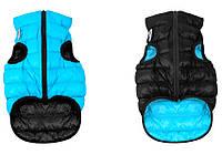 Курточка двухсторонняя Collar AiryVest, черно-розовая, S 35 1549