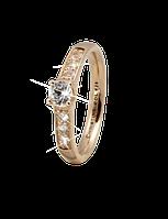 Кольцо CC 800-3.8.B/55 Topaz Princess goldpl