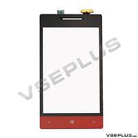 Тачскрин (сенсор) HTC A620e Windows Phone 8S, оранжевый