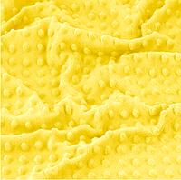 Плюш minky желтого цвета