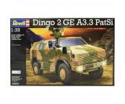 Сборная модель Бронеавтомобиль (2011г.;Германия) ATF Dingo 2 GE A3.3 PatSi, 1:35, Revell 03242