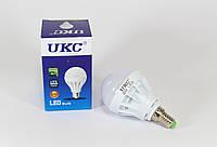 Светодиодная лампочка LED LAMP E14 5W круглая (100) UKC