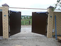 Распашные ворота 3x2
