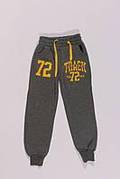 Утепленные спортивные штаны для мальчиков оптом (4-7 лет)