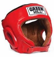 Шлем боксерский Green Hill Best HGB-4016 красный - S