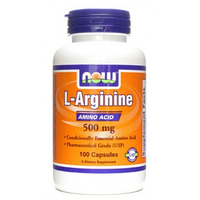 NOW Аrginine 500mg 100c