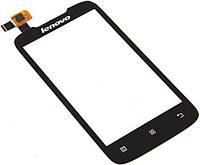 Сенсорный экран для мобильного телефона Lenovo A369i Black