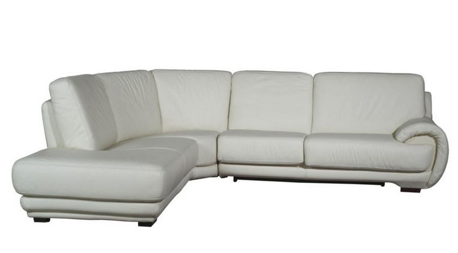 кожаный угловой диван Eldorado 290х240 см в категории диваны
