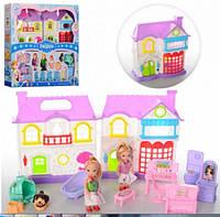 Кукольный домик с куклами