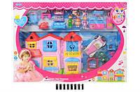 Кукольный домик с мебелью и куклами, SL32588D