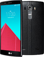 Смартфон LG G4 H818P Dual sim (Leather Black) EU 12 мес