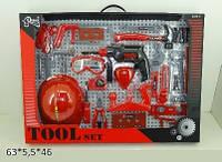 Набор инструментов пожарника с каской, T117B(B)