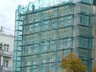 Защитная фасадная строительная сетка 60 г/кв. м., 3.0х50 м, HDPE.green☎